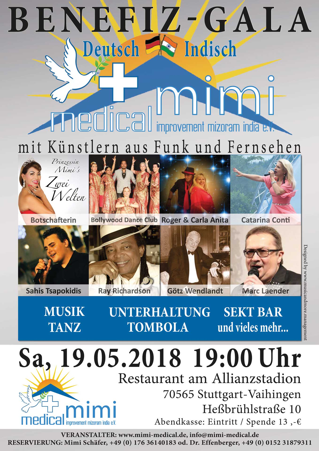 Benefiz-Gala Deutsch Indisch mit mimi e.V.